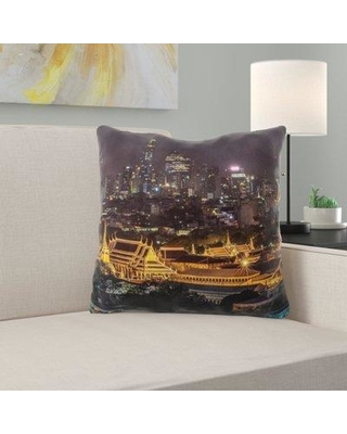 East Urban Home Grand Palace Throw Pillow W000730412