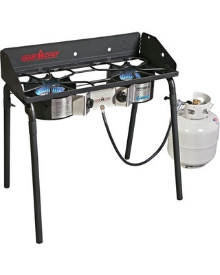 Camp Chef Explorer Deluxe Face Plate 2 Burner Stove, Size: One size
