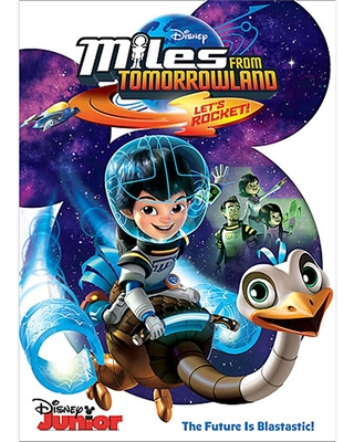 Miles from Tomorrowland: Let's Rocket! DVD Official shopDisney