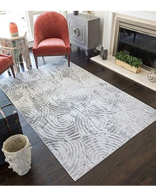 """CosmoLiving Downtown Collection Area Rug 5'0""""x7'0"""" Spindle"""