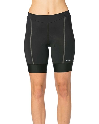 Terry Women's Bella Prima Short - Large - Black / Charcoal