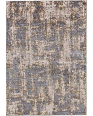 Bloomsbury Market Reichenbach Gold/Sterling Area Rug BI084166 Rug Size: Rectangle 5' x 8'