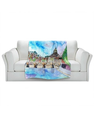 Here S A Great Deal On Doremus Vatican Rome Italy Saint Peter I Blanket Red Barrel Studio Size 68 X 80