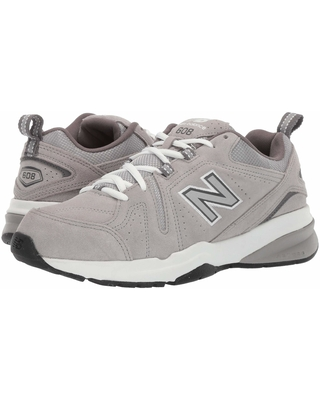 New Balance 608v5 (Grey Suede/Grey Suede) Men's Cross Training Shoes