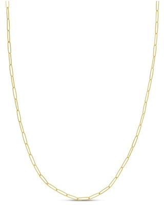 Jared The Galleria Of Jewelry Oval Link Necklace 14K Yellow Gold
