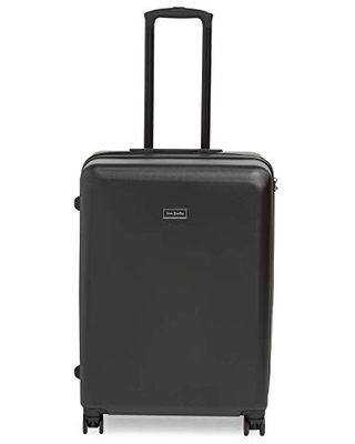 """Vera Bradley Women's Hardside Rolling Suitcase Luggage, Classic Black, 26"""" Check In"""