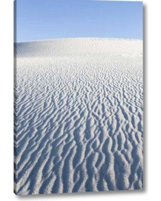 """World Menagerie 'New Mexico White Sands Nm Desert Landscape' Photographic Print on Wrapped Canvas BI152698 Size: 32"""" H x 21"""" W x 1.5"""" D"""
