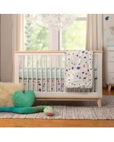babyletto Fleeting Flora 6 Piece Crib Bedding Set