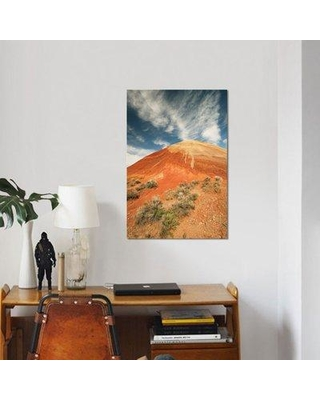 """East Urban Home 'Bentonite Clay Deposits Painted Hills John Day National Monument Oregon' Graphic Art Print on Canvas ESBH6194 Size: 60"""" H x 40"""" W x 1.5"""" D"""
