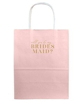 Tea and Becky Will You be My Bridesmaid Program Kit w-gb-wybmb