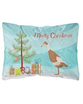 Montevia Indian Runner Duck Christmas Indoor/Outdoor Throw Pillow The Holiday Aisle