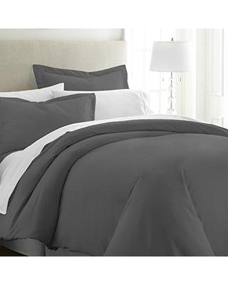 Simply Soft Duvet Cover Set, Twin, Gray