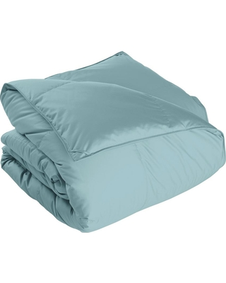 The Company Store Alberta Extra Warmth Cloud Blue Full Euro Down Comforter