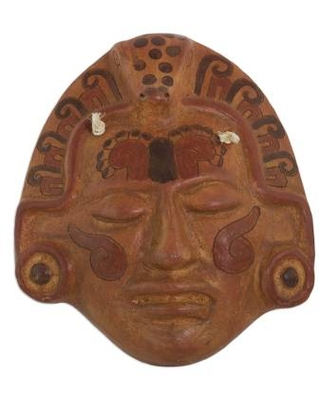 Archaeological Ceramic Wall Mask