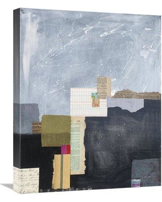 "East Urban Home 'Block Abstract I v2' Graphic Art Print on Canvas ESUM8513 Size: 24"" H x 20"" W"