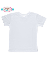 White Knitted Toddler T-Shirt - 3T