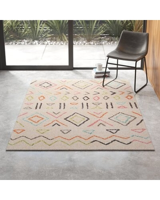 Irwin Wes Hand-Tufted Ivory Area Rug