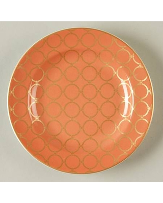 222 Fifth (PTS) Chain Link Coral Appetizer Plate