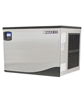 """MIM370N 30"""" Modular Ice Maker with 373 lbs. Daily Ice Production Stainless Steel Exterior and Hinged Front Panel in Stainless"""