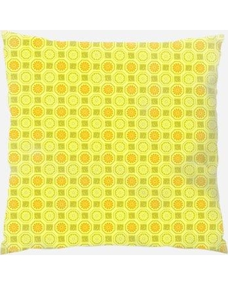 East Urban Home Patterns Throw Pillow W000452963 Location: Indoor