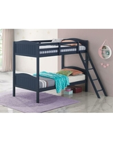 Andersen Twin over Full Bed Isabelle & Max™ Bed Frame Color: Blue