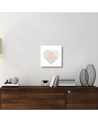"""East Urban Home 'Cozy Hygge IV' Graphic Art Print on Canvas UBAH6320 Size: 18"""" H x 18"""" W x 1.5"""" D"""
