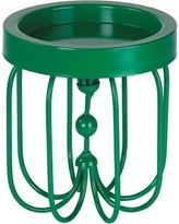 Ivy Bronx Iron Candle Holder in Green IVYB6387