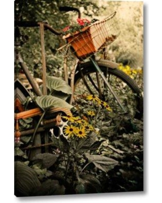 """August Grove 'In the Fields I' Photographic Print on Wrapped Canvas BI155546 Size: 16"""" H x 11"""" W x 1.5"""" D"""