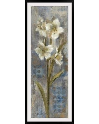 """Great Big Canvas 'Early Spring II' by Silvia Vassileva Painting Print 1051698 Size: 56"""" H x 24"""" W x 1"""" D Format: Black Framed"""