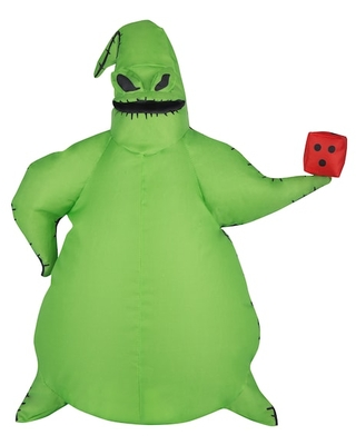 """18"""" Airblown® Inflatable Halloween Disney® Oogie Boogie with Dice By Gemmy Industries   Michaels®"""