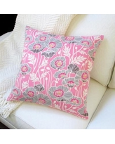 Artisan Pillows Cotton Throw Pillow BL-020MD-01 / BL-020PK-01 Color: Pink
