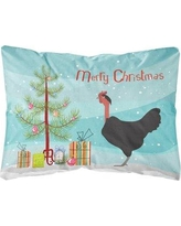 The Holiday Aisle Minnesota Naked Neck Chicken Christmas Indoor/Outdoor Throw Pillow BI148710