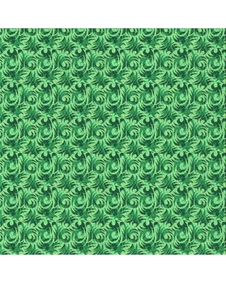 East Urban Home Wool Green Area Rug X112657713 Rug Size: Square 4'