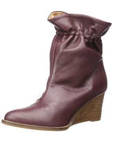 Andre Assous Women's Sunny Ankle Boot, Wine, 10 Medium US
