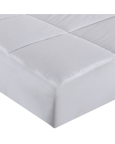Stayclean 400 Thread Count Water and Stain Resistant Mattress Pad, One Size , White