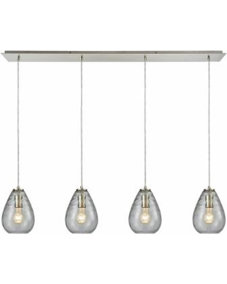 ELK Lighting Lagoon 46 Inch 4 Light Multi Light Pendant - 10760-4LP