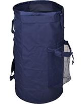 Laundry Bag with Pocket - Navy (Blue) - Room Essentials