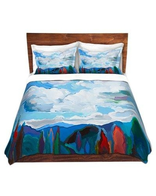 East Urban Home Color and Clouds Duvet Cover Set W000751539 Size: 1 Queen Duvet Cover + 2 Standard Shams