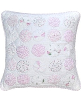 Amity Home Sherrie Circles 100% Cotton Throw Pillow CC245P-16