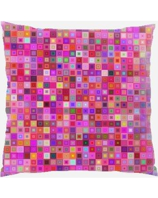 Rug Tycoon Throw Pillow PW-pink-2519532