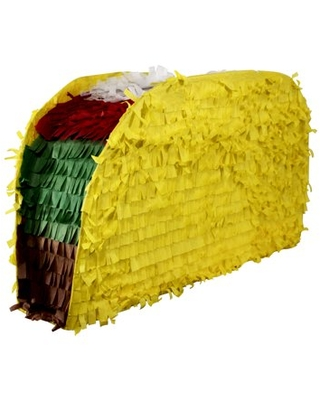 Taco Party Pinata, 19in x 12in