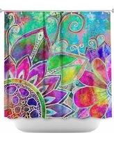 DiaNocheDesigns Jubilant Shower Curtain SHO-RobinMeadJubilant