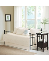 """Ivory Vancouver Daybed Set (75""""x39"""") 6pc - Jla Home"""