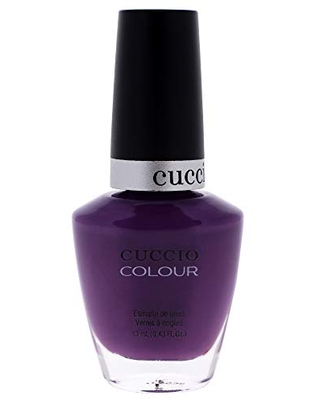 Cuccio Colour Nail Polish - Mercury Rising - Nail Lacquer for Manicures & Pedicures, Full Coverage - Quick Drying, Long Lasting, High Shine - Cruelty, Gluten, Formaldehyde & 10 Free - 0.43 oz