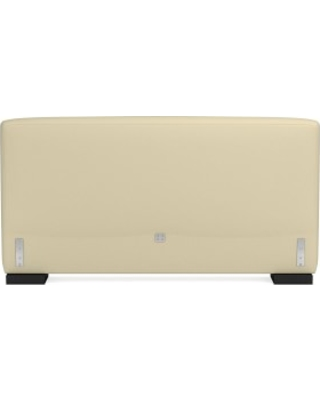 Robertson Headboard Only, King, Faux Suede, Champagne