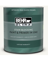 Special Prices On Behr Ultra 1 Qt Home Decorators Collection Hdc Wr16 01 Snow Day Extra Durable Satin Enamel Interior Paint Primer