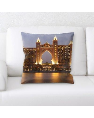 East Urban Home The Palm Throw Pillow W000311290