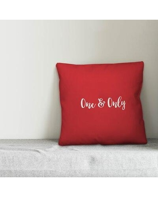 058894f4c5b Ebern Designs Odell One and Only Throw Pillow W001402985 Product Type   Throw Pillow Color