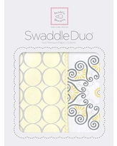 Swaddle Designs Penelope Swaddle Blanket in Yellow SD-358Y