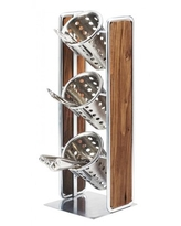 Don T Miss Sales On Cal Mil Sierra 3 Tier Silverware Condiment Holder Size 19 H X 6 W X 6 D Wayfair 3912 84